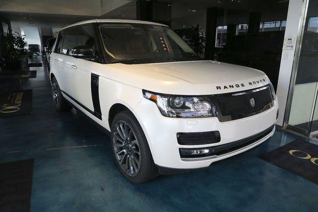 2015 Land Rover Range Rover 4WD 4dr Autobiography Black LWB