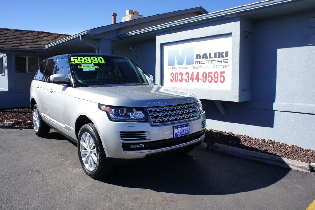 2015 Land Rover Range Rover 4WD 4dr HSE - 17416736 - 0