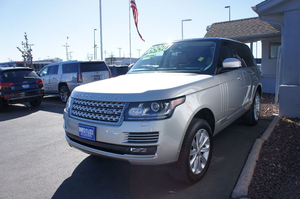 2015 Land Rover Range Rover 4WD 4dr HSE - 17416736 - 1