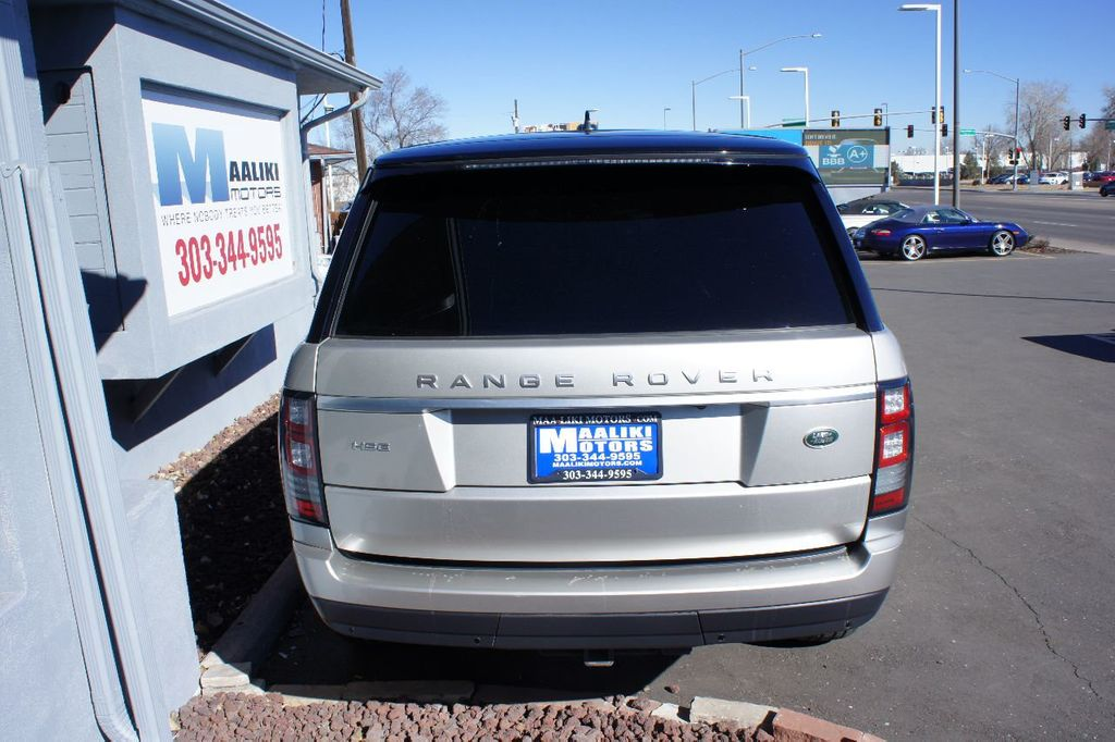 2015 Land Rover Range Rover 4WD 4dr HSE - 17416736 - 4