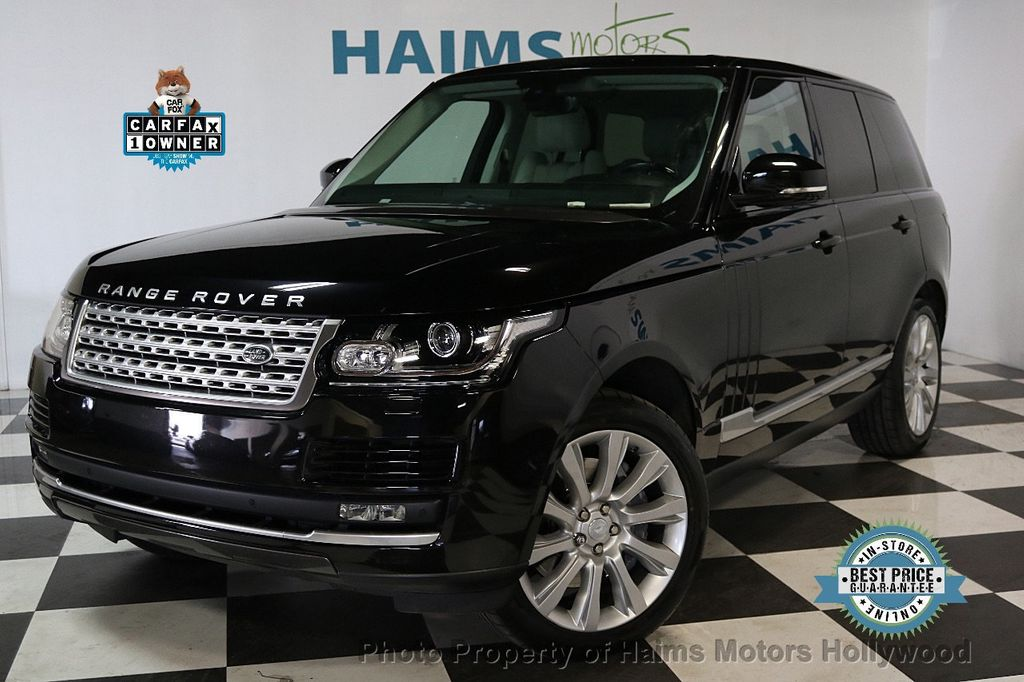 2015 Land Rover Range Rover 4WD 4dr Supercharged - 17656366 - 0