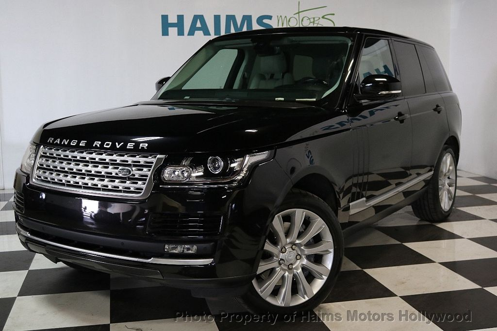 2015 Land Rover Range Rover 4WD 4dr Supercharged - 17656366 - 1
