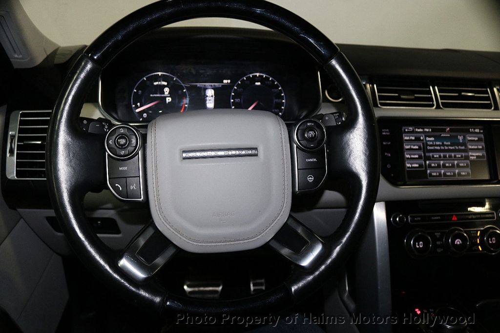 2015 Land Rover Range Rover 4WD 4dr Supercharged - 17656366 - 30