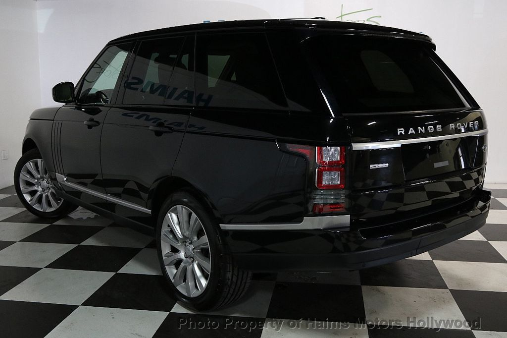 2015 Land Rover Range Rover 4WD 4dr Supercharged - 17656366 - 4