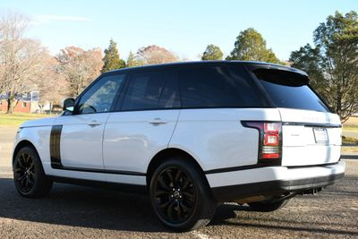2015 Land Rover Range Rover 4WD 4dr Supercharged - Click to see full-size photo viewer