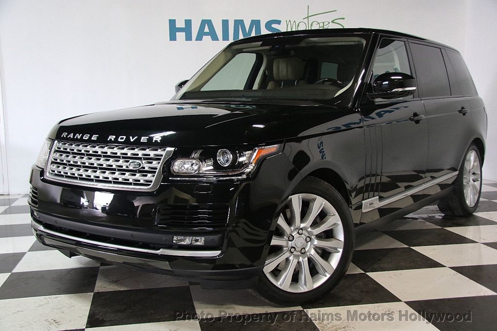 2015 Land Rover Range Rover LONG WHEEL BASE - 17328157 - 1
