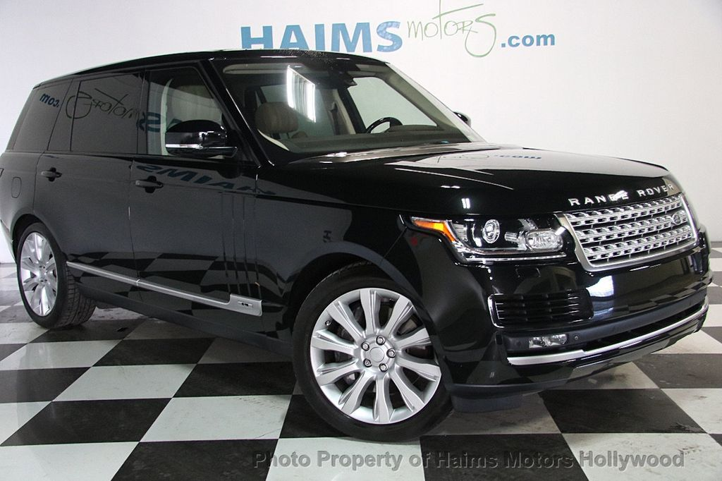 2015 Land Rover Range Rover LONG WHEEL BASE - 17328157 - 3