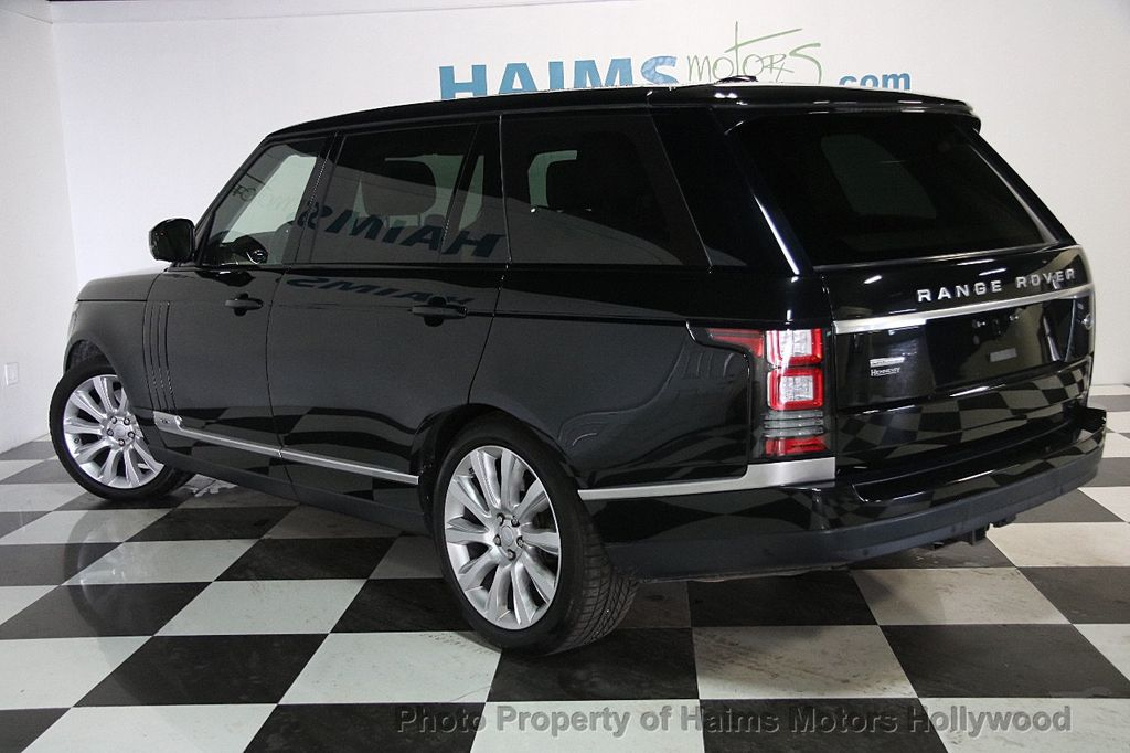 2015 Land Rover Range Rover LONG WHEEL BASE - 17328157 - 4