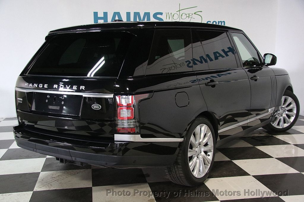2015 Land Rover Range Rover LONG WHEEL BASE - 17328157 - 6