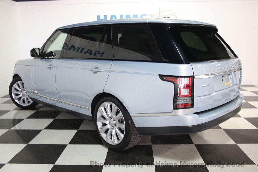 2015 Used Land Rover Range Rover Long Wheelbase Hse At