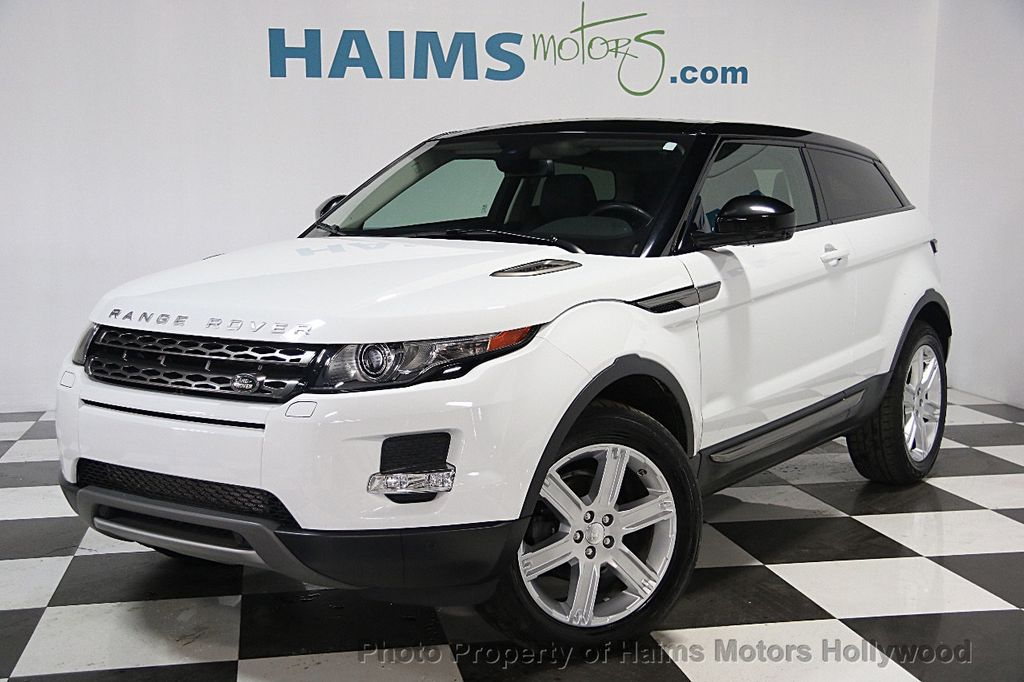 2015 used land rover range rover evoque 2dr coupe pure. Black Bedroom Furniture Sets. Home Design Ideas