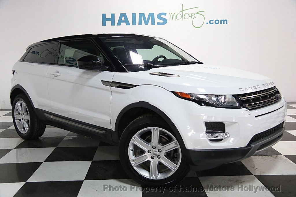 2015 used land rover range rover evoque 2dr coupe pure plus at haims motors hollywood serving. Black Bedroom Furniture Sets. Home Design Ideas