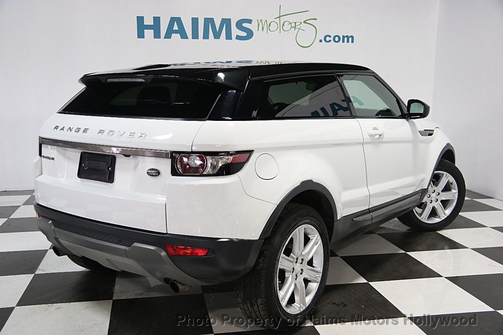 2015 used land rover range rover evoque 2dr coupe pure plus at haims motors serving fort. Black Bedroom Furniture Sets. Home Design Ideas
