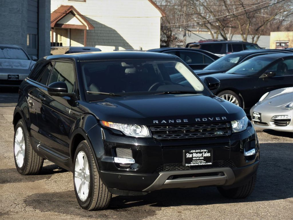 2015 Land Rover Range Rover Evoque 2dr Coupe Pure Plus - 19657598 - 4