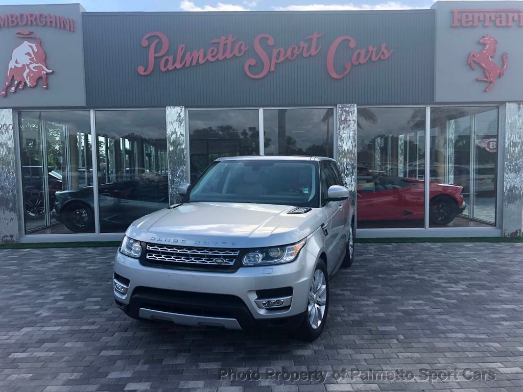 2015 Land Rover Range Rover Sport 4WD 4dr HSE - 18391353 - 1