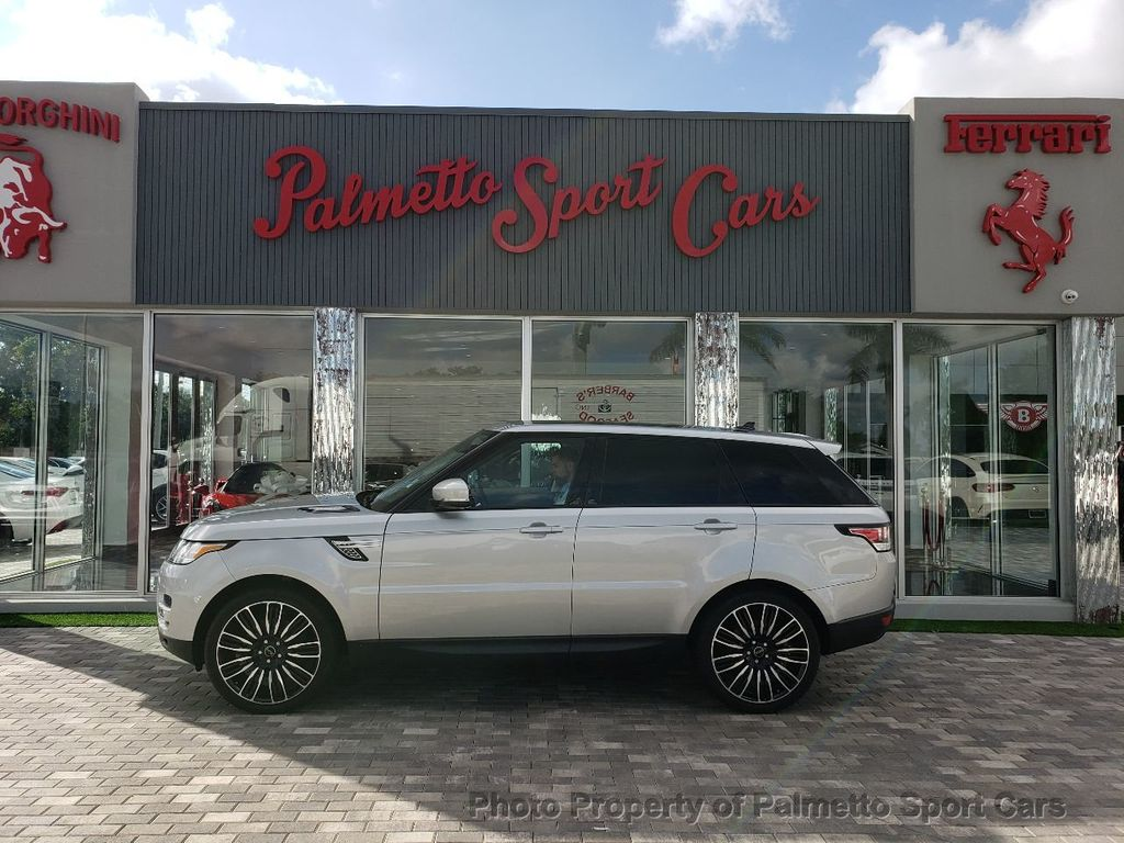 2015 Used Land Rover Range Rover Sport 4wd 4dr Hse At Palmetto Sport