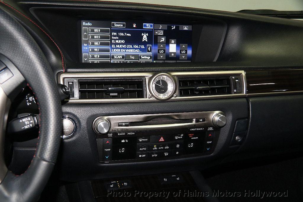 2015 Lexus GS 350 4dr Sedan Crafted Line RWD - 16932880 - 21