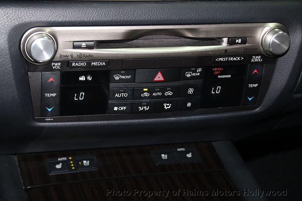 2015 Lexus GS 350 4dr Sedan Crafted Line RWD - 16932880 - 22