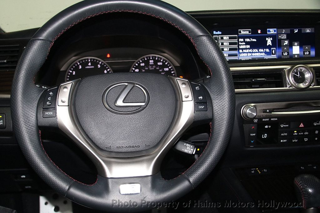 2015 Lexus GS 350 4dr Sedan Crafted Line RWD - 16932880 - 31