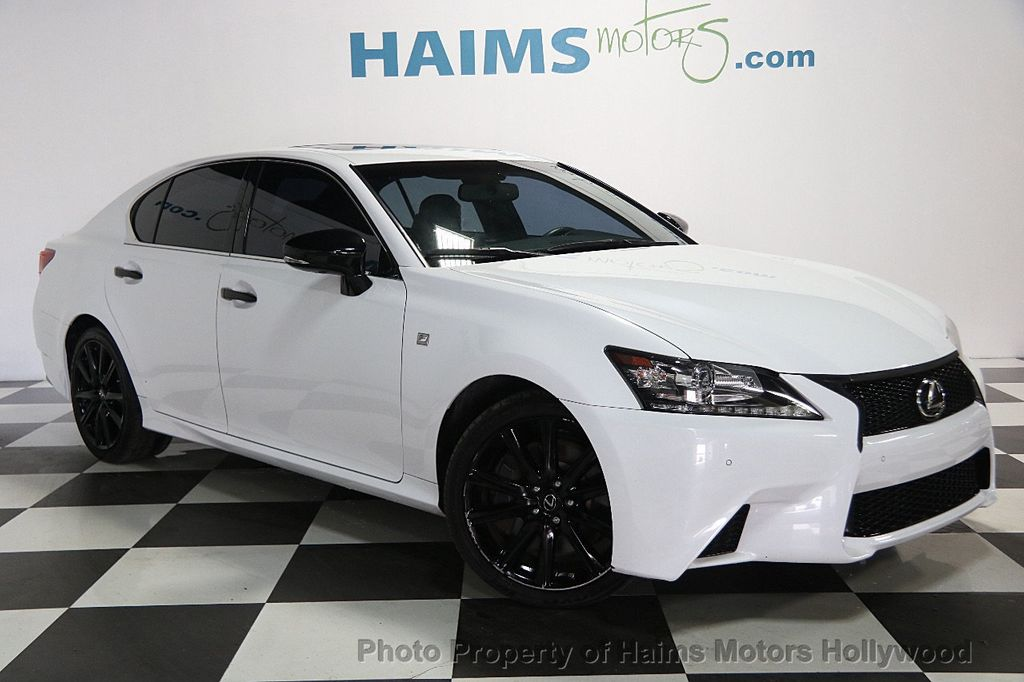 2015 used lexus gs 350 4dr sedan crafted line rwd at haims motors serving fort lauderdale. Black Bedroom Furniture Sets. Home Design Ideas