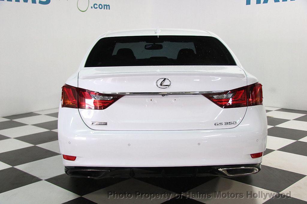 2015 Lexus GS 350 4dr Sedan Crafted Line RWD - 16932880 - 5