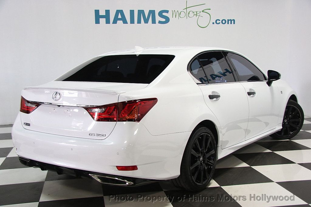 2015 Lexus GS 350 4dr Sedan Crafted Line RWD - 16932880 - 6