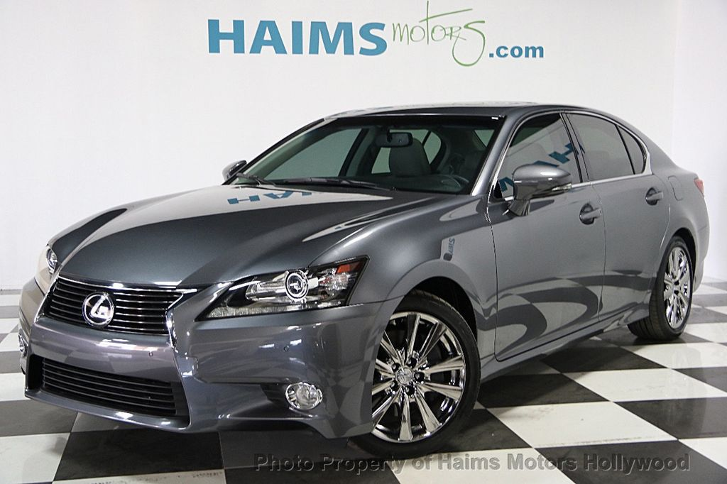 2015 used lexus gs 350 4dr sedan rwd at haims motors ft lauderdale serving lauderdale lakes fl. Black Bedroom Furniture Sets. Home Design Ideas