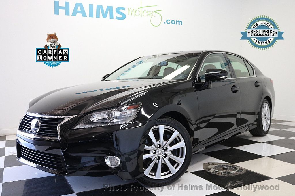 2015 Lexus GS 350 4dr Sedan RWD - 17789599 - 0