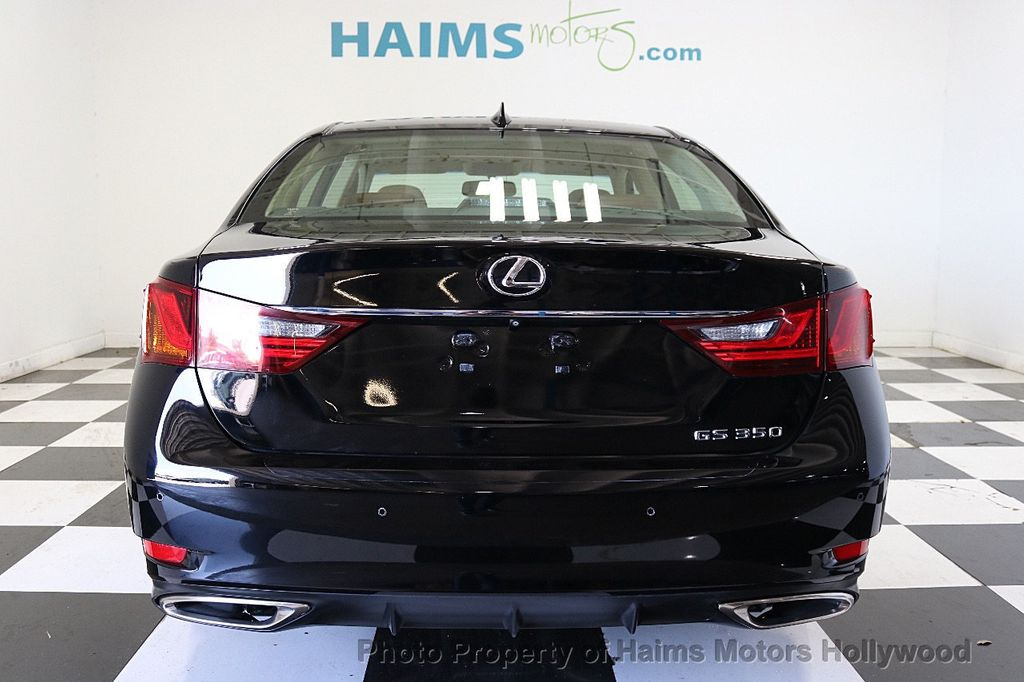 2015 Lexus GS 350 4dr Sedan RWD - 17789599 - 5