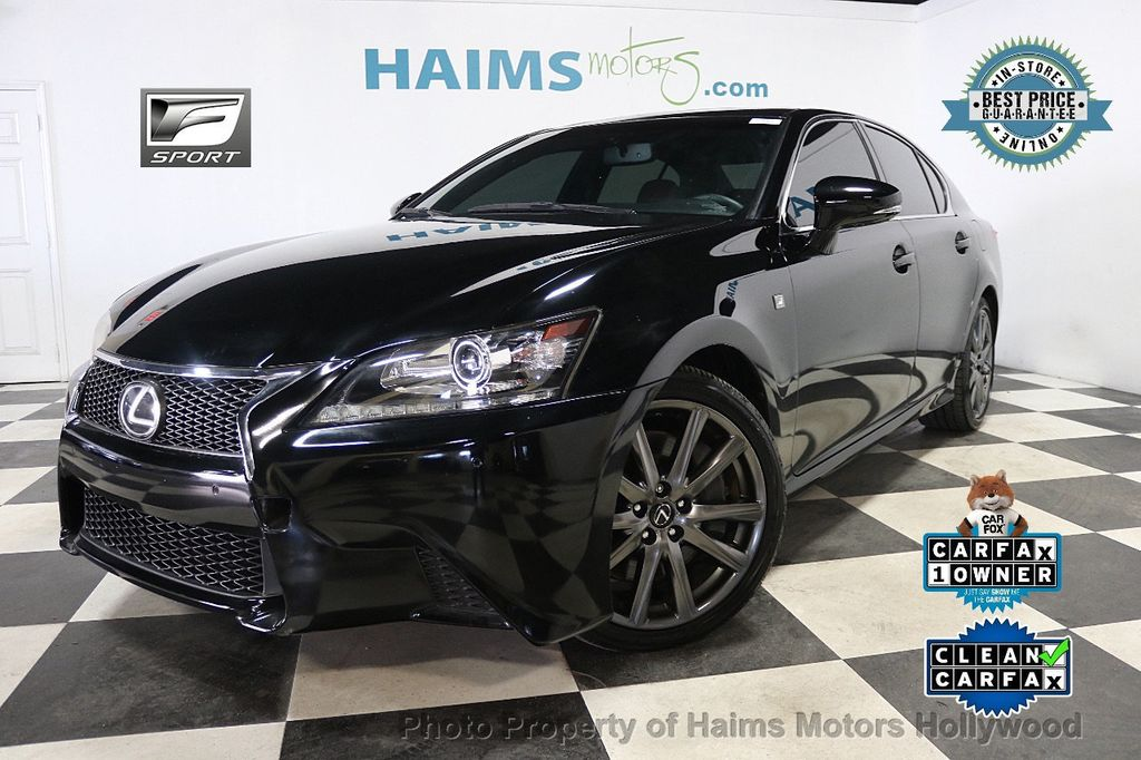 2015 Lexus GS 350 4dr Sedan RWD - 17952861 - 0