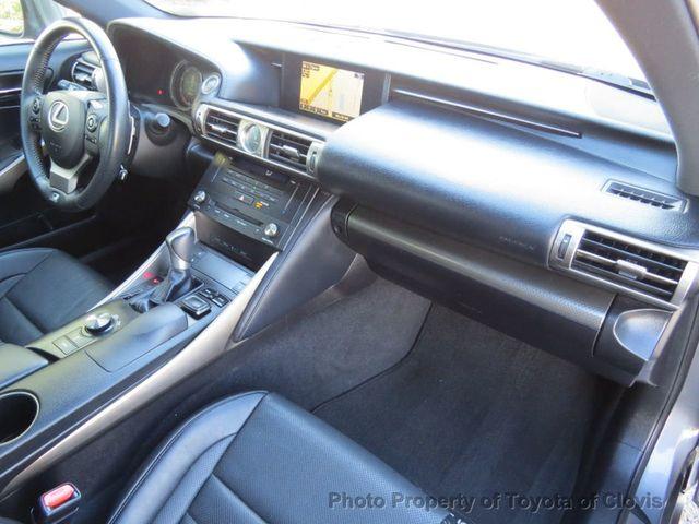 2015 Lexus IS 250 4dr Sport Sedan Automatic RWD - 17180769 - 27