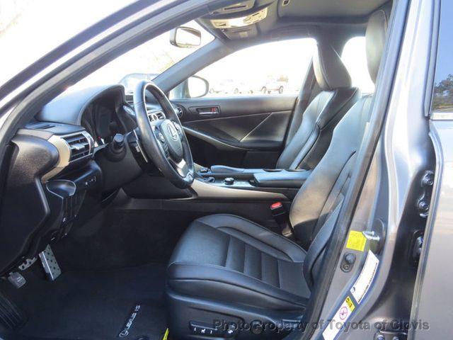 2015 Lexus IS 250 4dr Sport Sedan Automatic RWD - 17180769 - 28