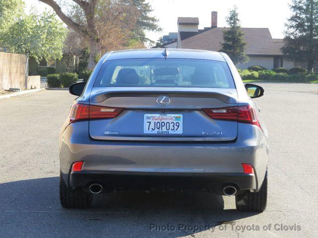 2015 Lexus IS 250 4dr Sport Sedan Automatic RWD - 17180769 - 5