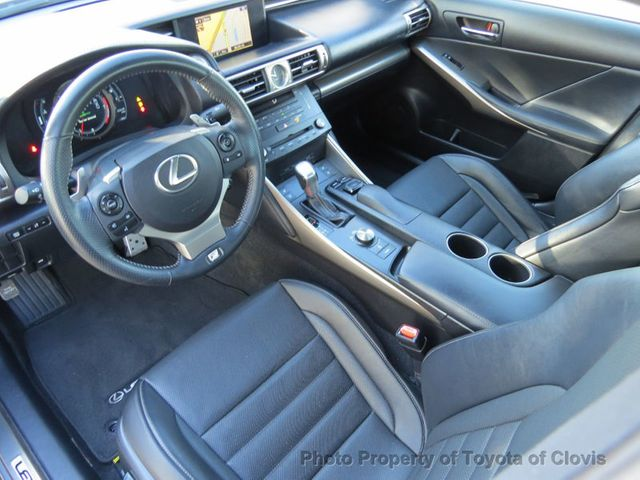 2015 Lexus IS 250 4dr Sport Sedan Automatic RWD - 17180769 - 8