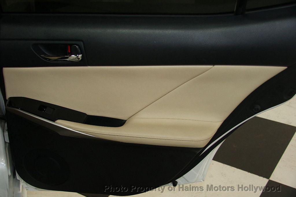 2015 Lexus IS 250 Base Trim - 17165118 - 11