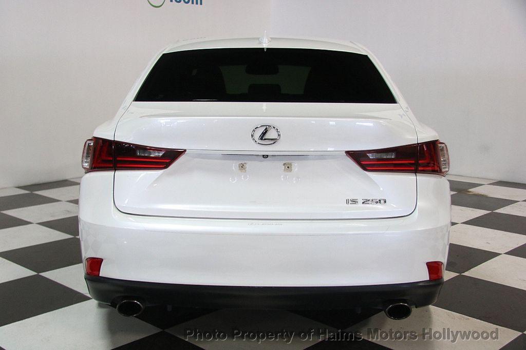 2015 Lexus IS 250 Base Trim - 17165118 - 5