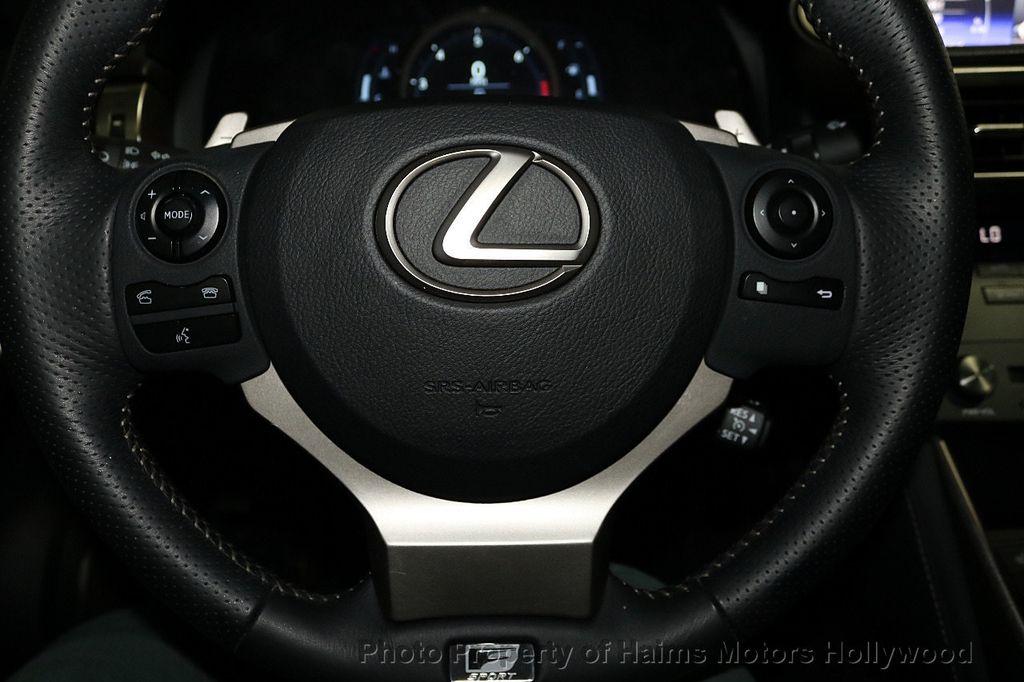 2015 Lexus IS 250 Base Trim - 18143363 - 28
