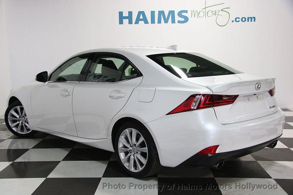 2015 Lexus IS 250 Base Trim - 18146720 - 4