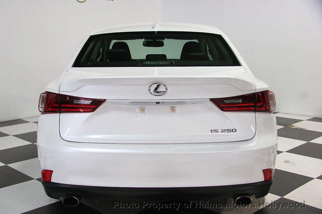 2015 Lexus IS 250 Base Trim - 18146720 - 5