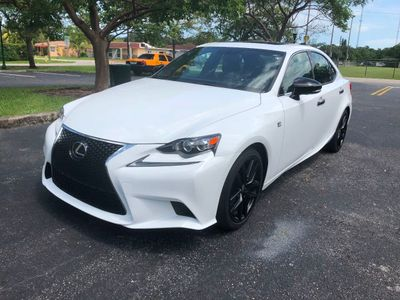 2015 Lexus IS 250 Sport Crafted Line  Sedan