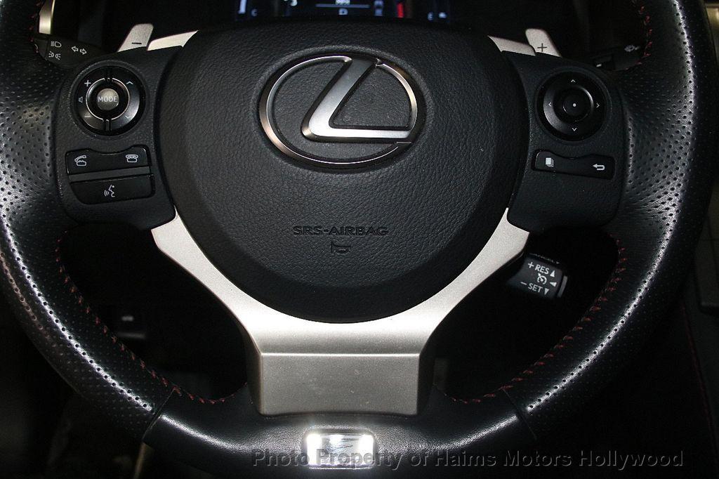 2015 Lexus IS 350 4dr Sedan RWD - 17422245 - 27