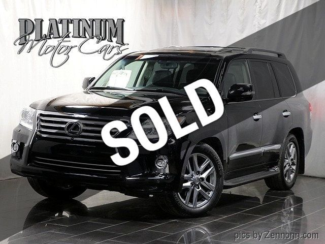 2015 Used Lexus LX 570 4WD 4dr at Platinum Motor Cars Serving