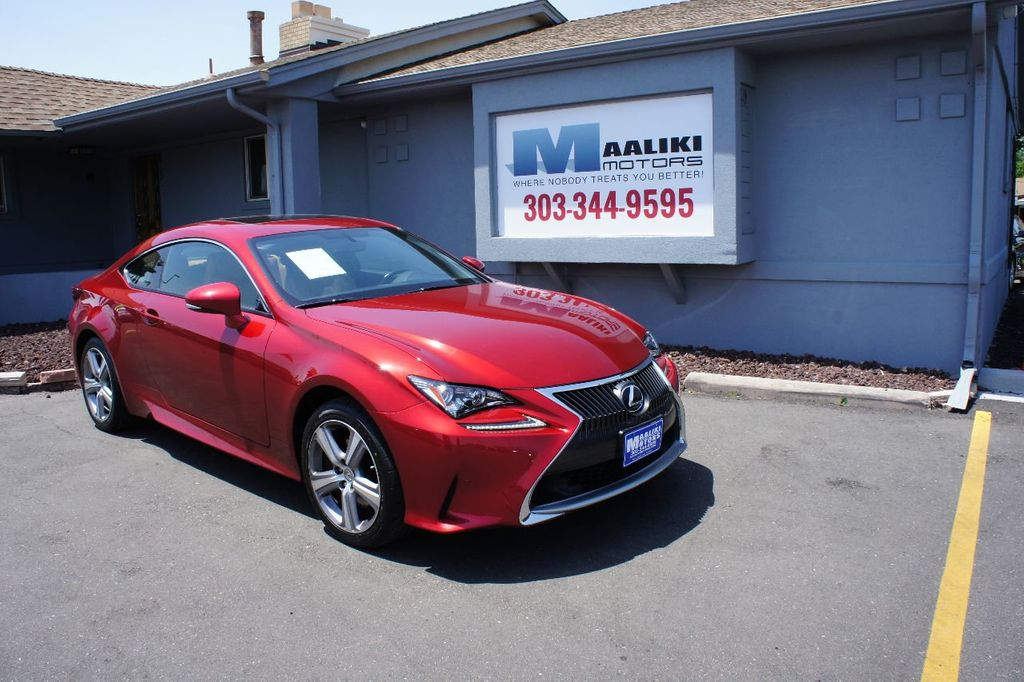 2015 Lexus RC 350 2dr Coupe AWD - 17763124 - 0