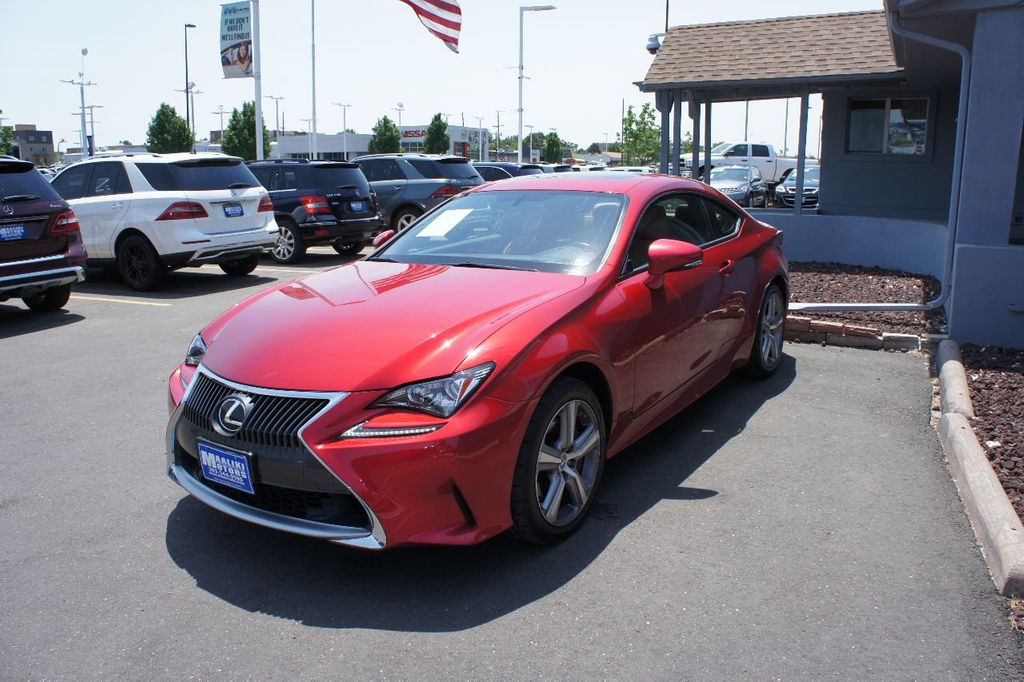 2015 Lexus RC 350 2dr Coupe AWD - 17763124 - 1