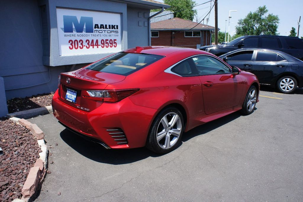 2015 Lexus RC 350 2dr Coupe AWD - 17763124 - 3