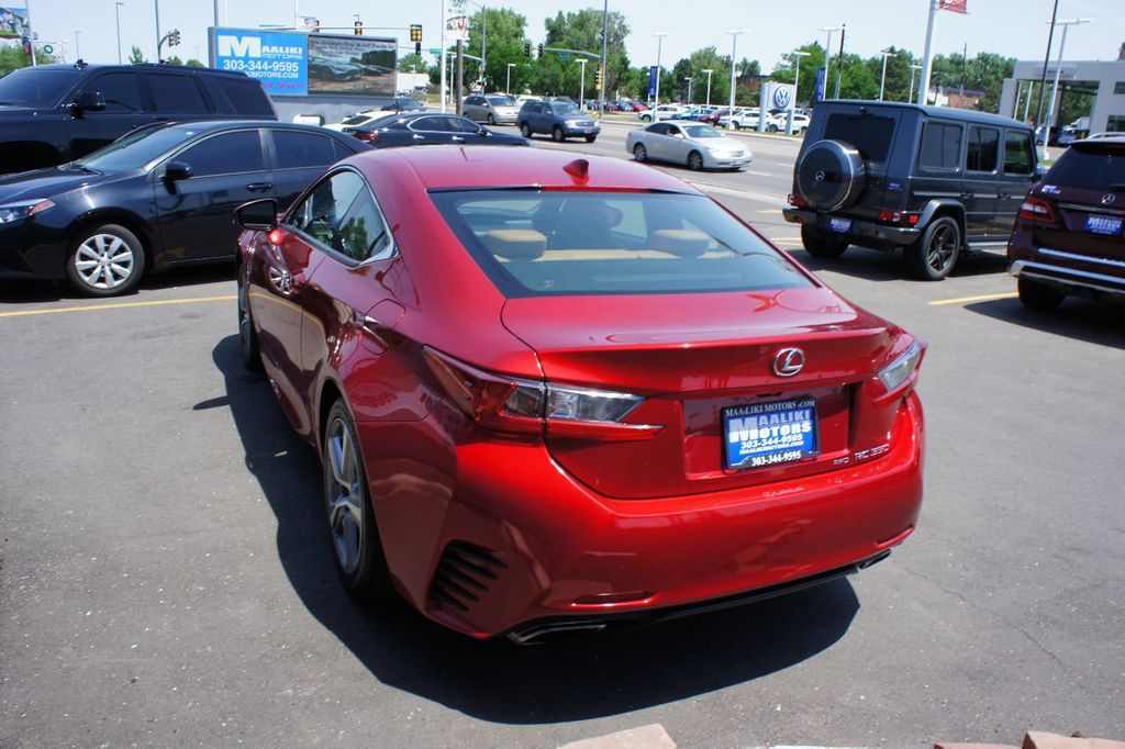 2015 Lexus RC 350 2dr Coupe AWD - 17763124 - 5