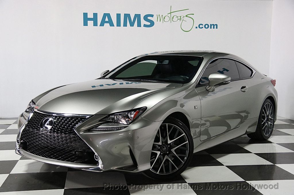 2015 used lexus rc 350 2dr coupe rwd at haims motors serving fort lauderdale hollywood miami. Black Bedroom Furniture Sets. Home Design Ideas