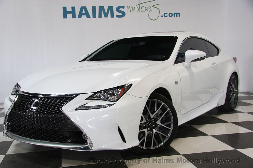 2015 used lexus rc 350 2dr coupe rwd at haims motors hollywood serving fort lauderdale. Black Bedroom Furniture Sets. Home Design Ideas