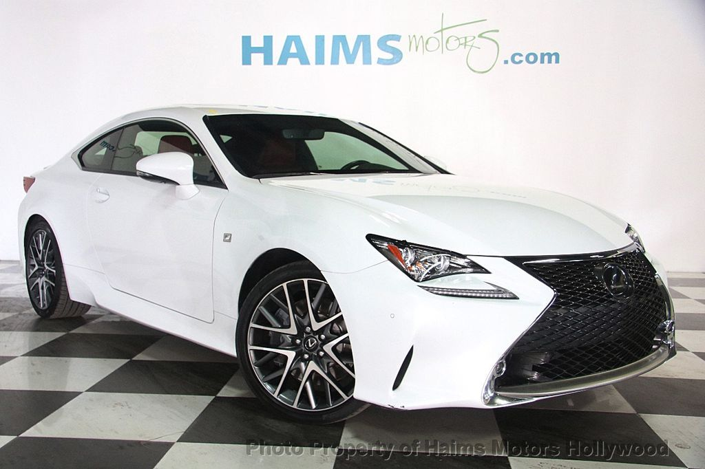 2015 used lexus rc 350 2dr coupe rwd at haims motors ft lauderdale serving lauderdale lakes fl. Black Bedroom Furniture Sets. Home Design Ideas