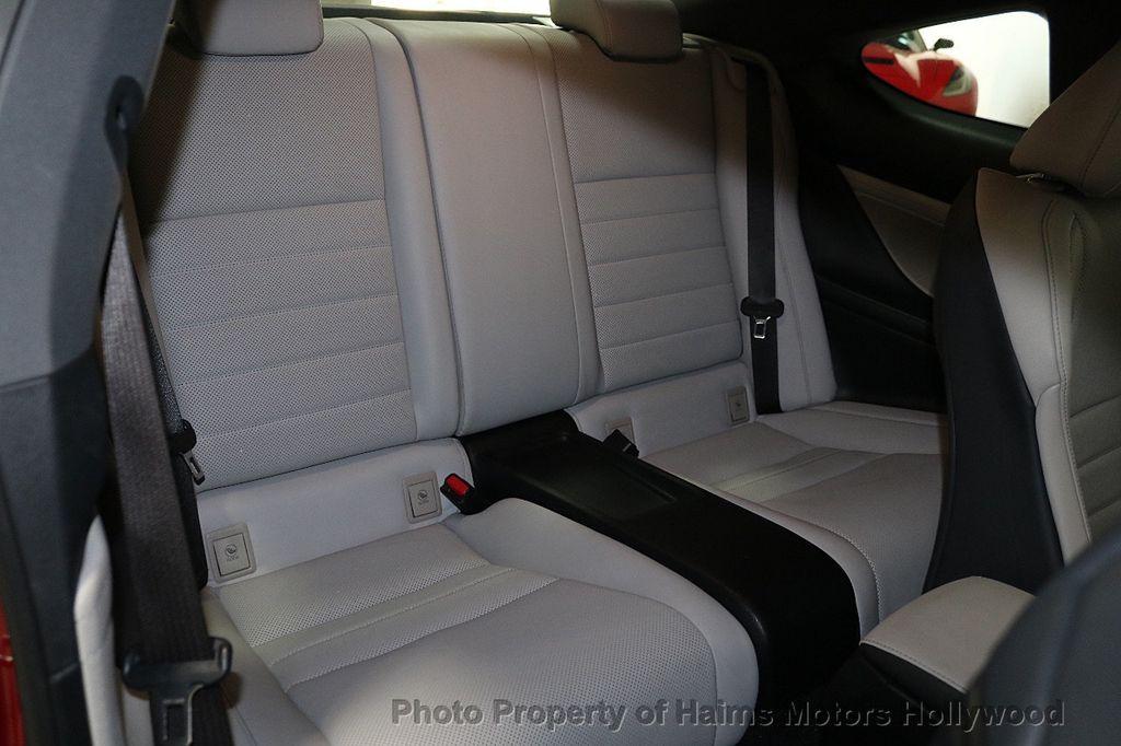 2015 Lexus RC 350 2dr Coupe RWD - 18272692 - 11